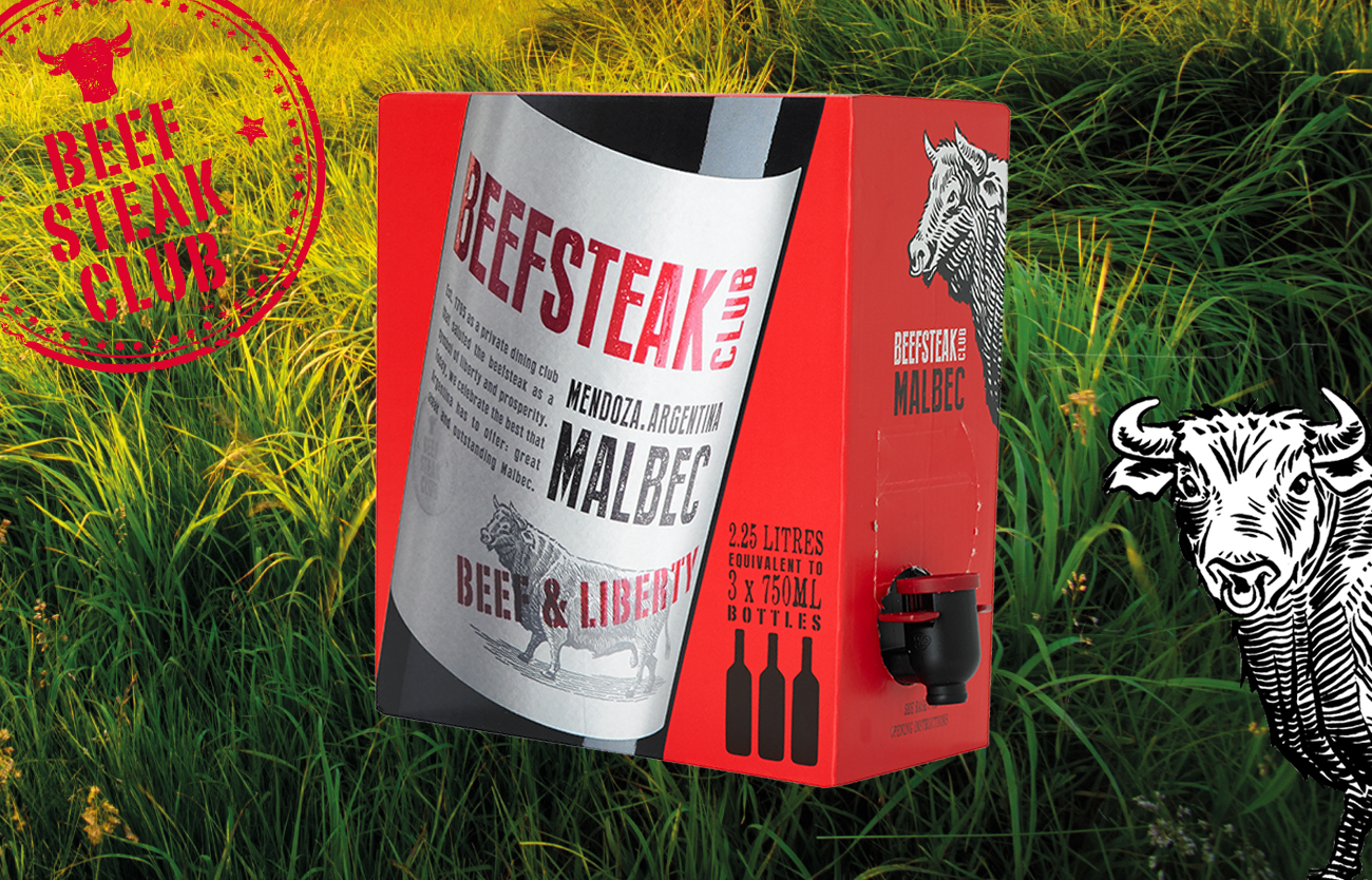 Beefsteak Club Bag in Box Wine Malbec